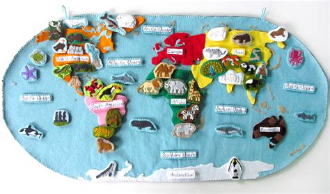 animals of the ocean for the montessori wall map animals of asia for the montessori wall map quietbook