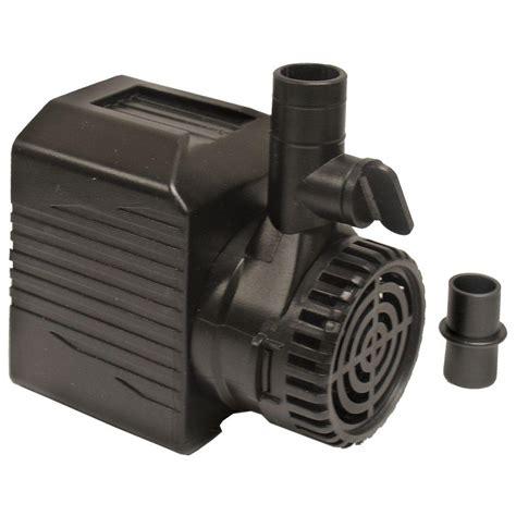beckett  gph submersible fountain pump mhd