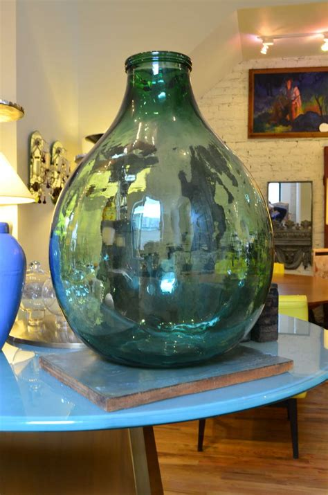 Glass Jars And Vases by Large Glass Bottle At 1stdibs