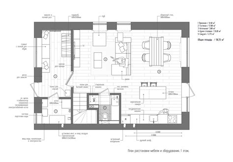 Floor Design Plans Duplex Penthouse With Scandinavian Aesthetics Industrial Elements
