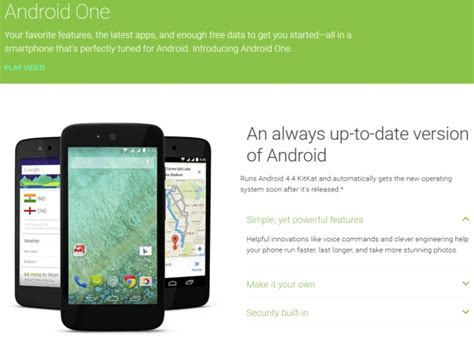 android one android one phones in india to get lollipop update next week naveengfx
