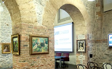 Sant Angelo Banca by Arte Siciliana Inedita Dipinti In Mostra A Palazzo Petyx