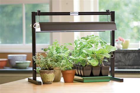 indoor plant grow light stand