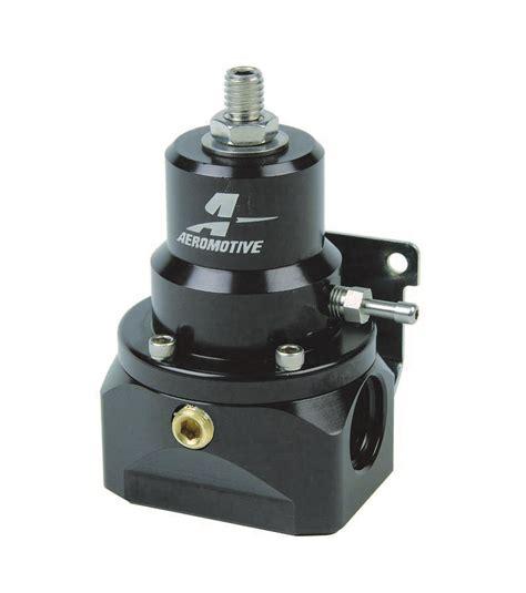 Pressure Fuel Pengukur Tekanan Fuel aeromotive 2 20 psi a2000 inline fuel pressure regulator