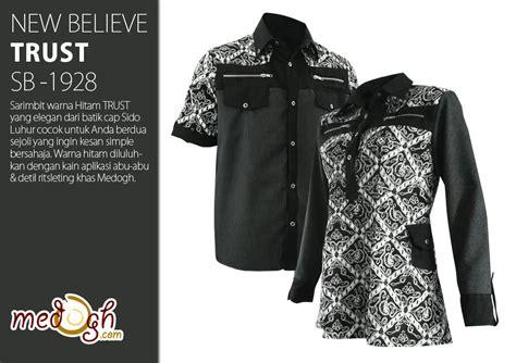 Kemeja Polos Type A Biru Turkish new believe sarimbit batik eksklusif dari medogh