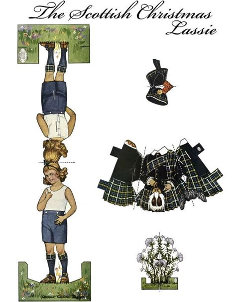scottish piper christmas decoration 597 best images about paper dolls of other countries on