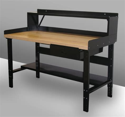 workers bench adjustable height work bench