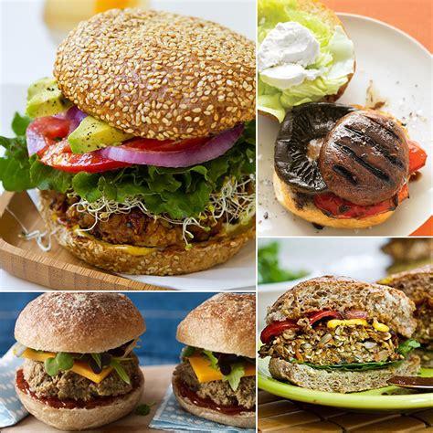 vegan burger recipes popsugar fitness