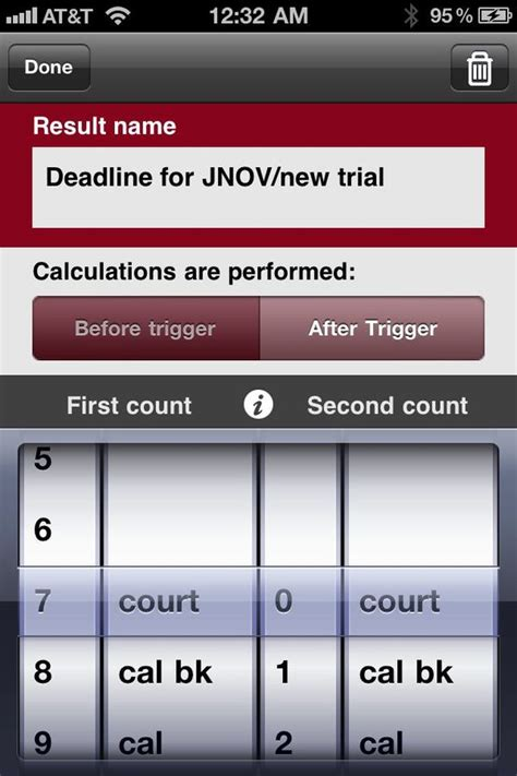 iphone j d review court days pro calculate dates on your iphone using sophisticated iphone j d