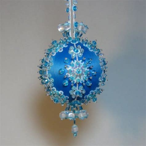 beaded christmas ornament kit snow queen