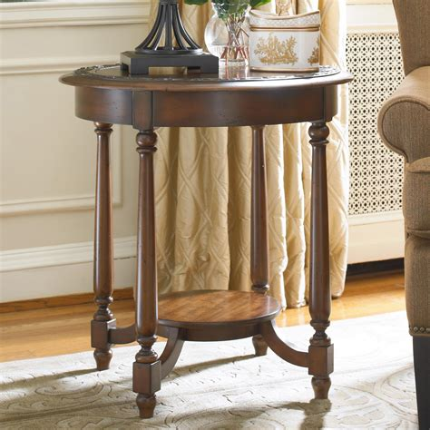 round accent tables for living room hooker furniture living room accents round accent table