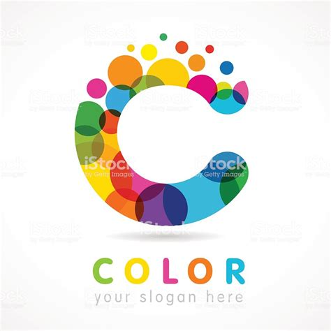 color c color c logo stock vector more images of abstract