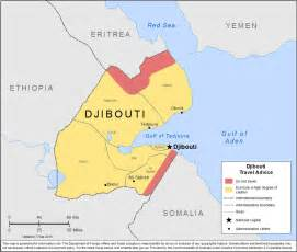 Djibouti Africa Map by Djibouti Wetterkarte