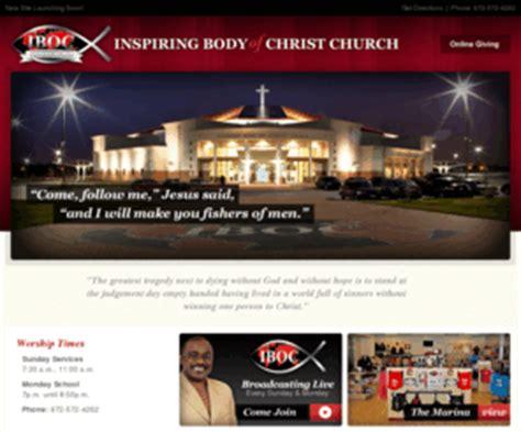 ibocjoyorg inspiring body  christ church