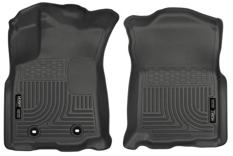 Floor Mats For Tacoma by 2016 2017 Toyota Tacoma Husky Liners Weatherbeater 1st Row