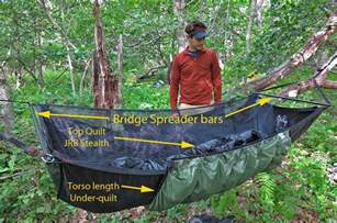 hammock camping part ii types of backpacking hammocks and spec comparison to ground systems