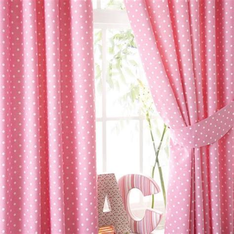 pink pleated curtains buy lilly pink polkadot pencil pleat curtains 72s from