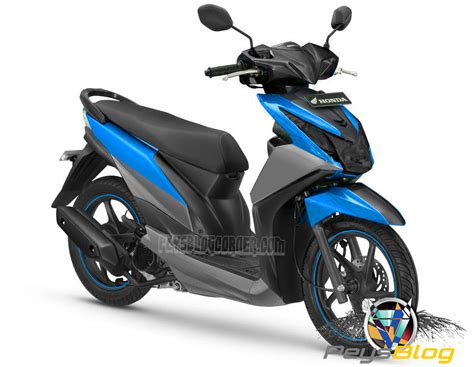 Warna Modifikasi Motor by Beat Modif Warna Biru Peysblog