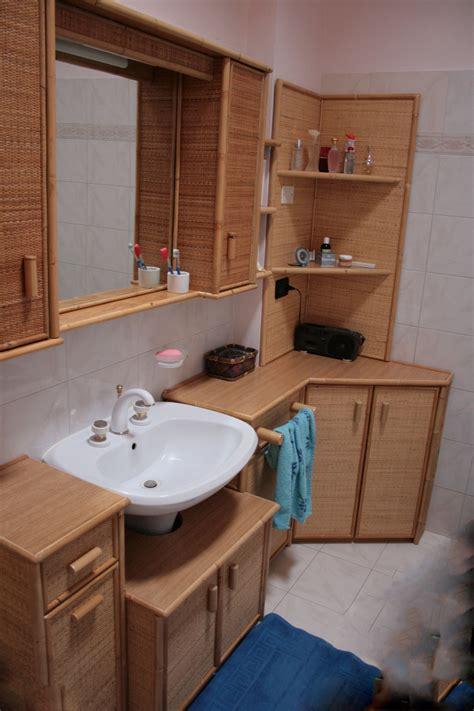 mobili bagno legno naturale produzione mobili bagno in rattan midollino giunco
