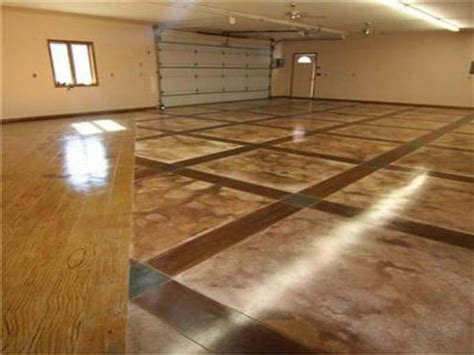 flooring types of garage floor options inspiration home