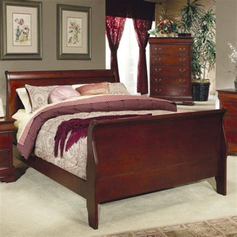 cheap sleigh beds gt cheap queen size sleigh bed louis philippe style in