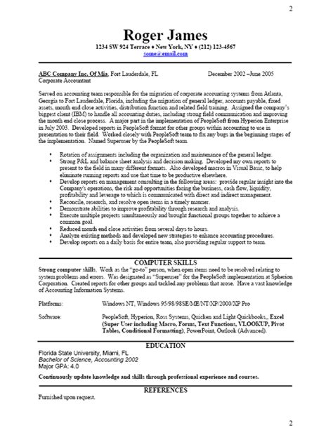 Business Resume Sample, Free Resume Template, Professional