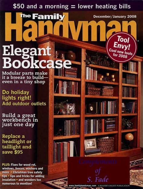 the family handyman the family handyman magazine review review spew