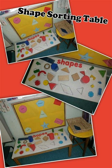 new year maths for eyfs eyfs shape sorting table maths with and