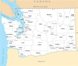 Map Of Washington State Cities And Towns by Washington Map With Cities And Towns