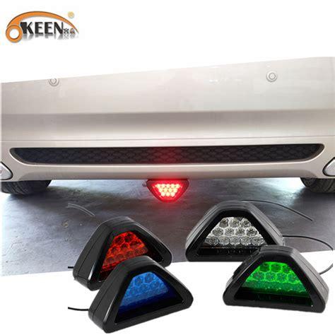flashing brake lights for cars okeen car led brake lights parking warning fog tail lights