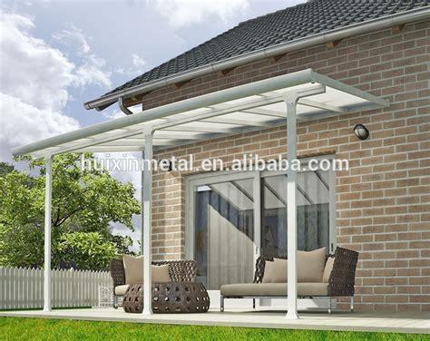 aluminum patio canopy robuste en aluminium polycarbonate patio couvert balcon