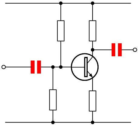 coupling capacitor in audio circuits capacitor uses capacitor applications electronics notes