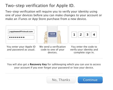 apple id secure your apple id enable two step verification