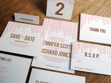 Stationary Wedding by Wedding Stationery Decoration