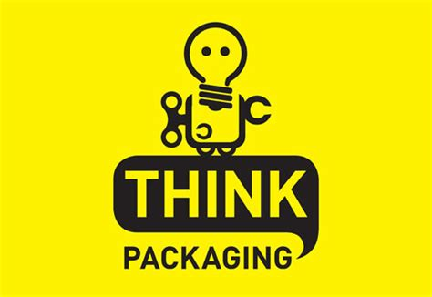 Cool Designer Made Think by 20 Cool Creative Paper Packaging Company Logo Design