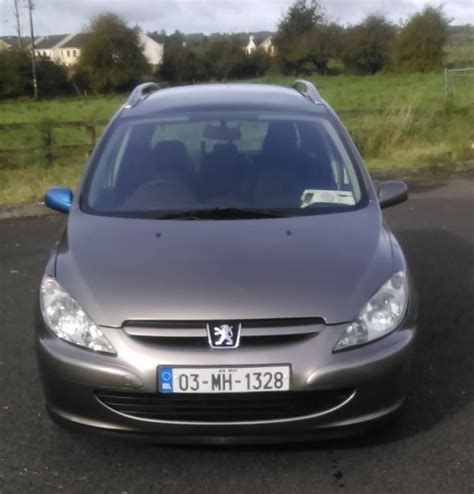 peugeot 2 seater car peugeot 307 20 hdi 7 seater for sale in roscommon town