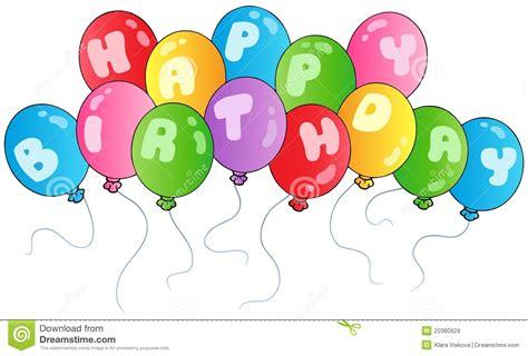 imagenes de cumpleaños con globos imagenes bonitas de cumplea 241 os im 225 genes de archivo