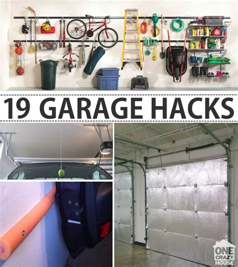 ways to organize a garage garage organization tips 18 ways to find more space in