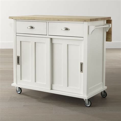 butcher block portable kitchen island take a of stock furniture and make it your own