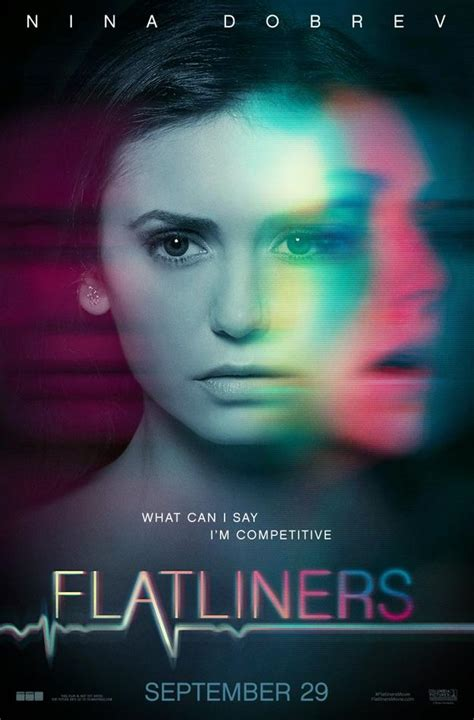 flatliners film remake flatliners remake character posters stare death in the
