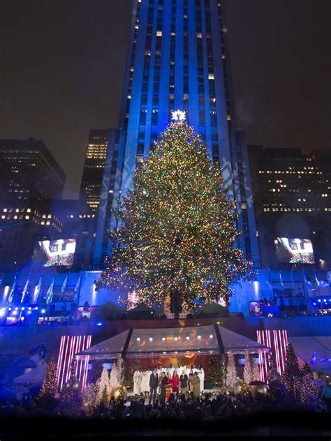 nbc rockefeller christmas tree lighting nbc celebrates holiday season with annual christmas in