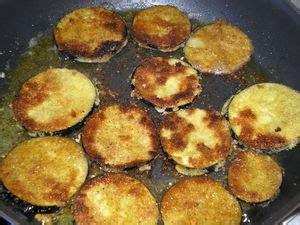 cuisiner des aubergines à la poele beignets d aubergine et beignets de courgette pour ceux