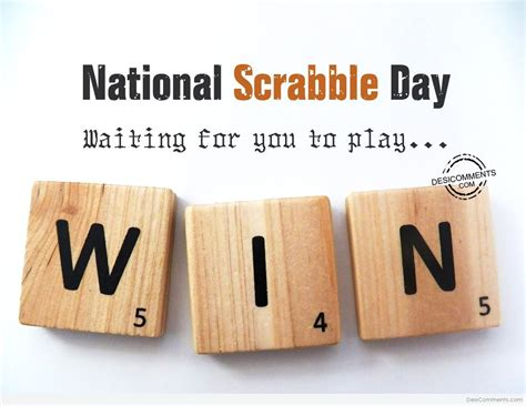 nat scrabble national scrabble day pictures images graphics for