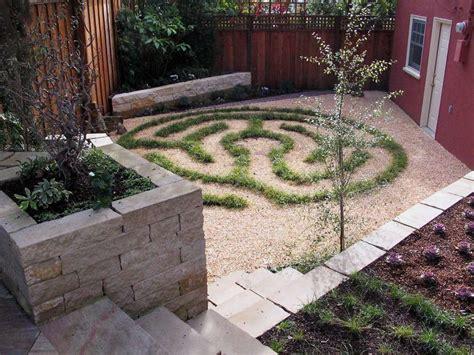 backyard labyrinth drought landscaping 5 inspiring lawn free yards san
