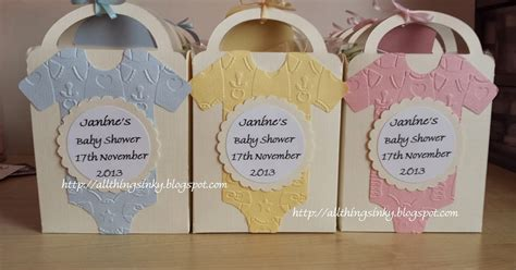 Baby Shower Favor Bags by Allthingsinky Baby Shower Favour Bags