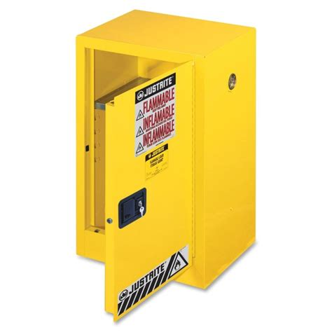 Justrite Flammable Liquid Storage Cabinet Printer