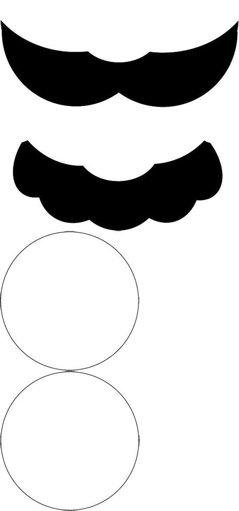 15 printable mustache templates and photo booth props best 25 mustache template ideas on pinterest moustache