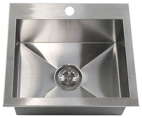 kitchen island with sink stainless steel single bowl apron front 19 quot top mount drop in stainless steel single bowl kitchen