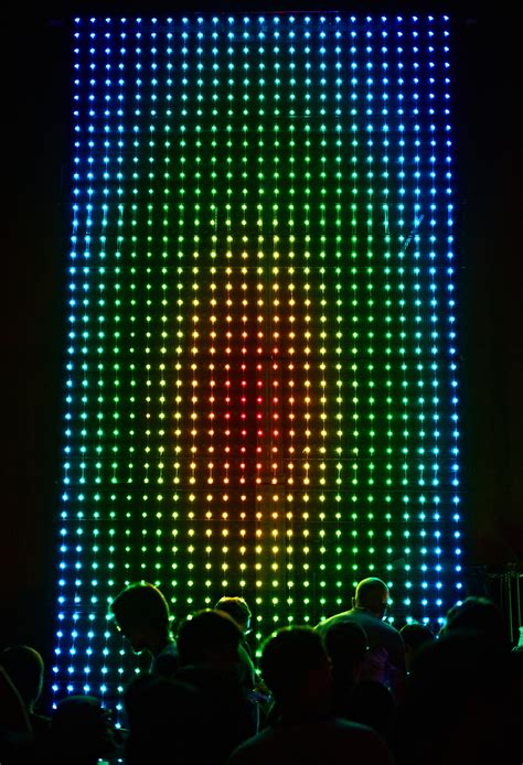 giant led light show