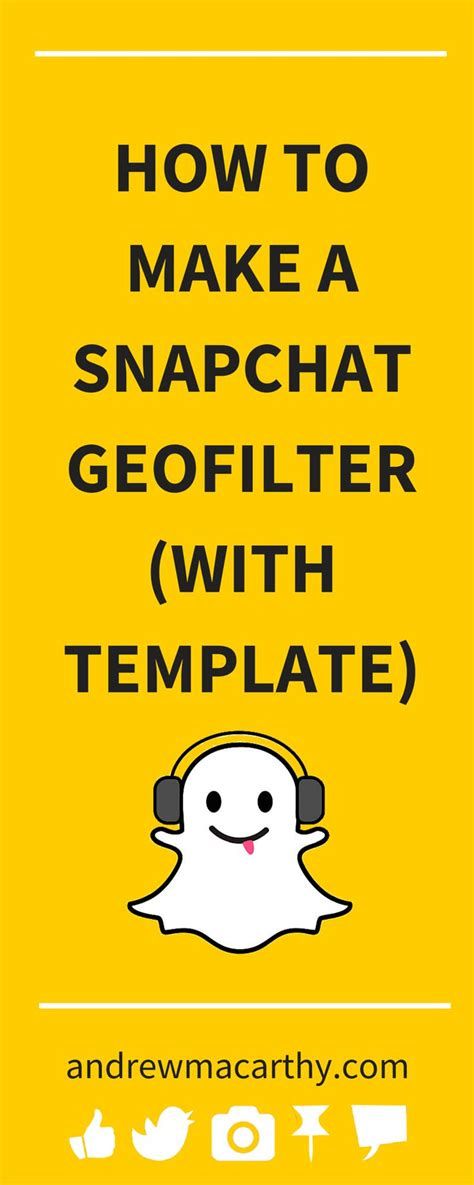 15 Best Snapchat Marketing For Businesses Images On Pinterest Social Media Marketing Inbound Snapchat Ad Template